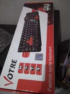 Keybord dan mouse msh baru