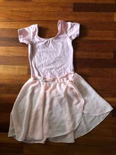 Ballet set - leotard and skirt 5-6yr