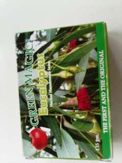 Green magic eucalyptus herbal and organic soap