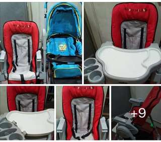 SUPER SALE: Mickey Milano High Chair with free Spongebob Stroller!