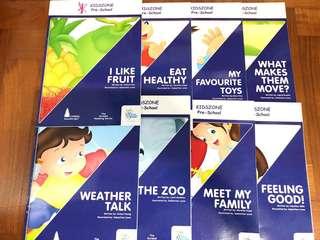 Kidszone Preschool N1 9 Books
