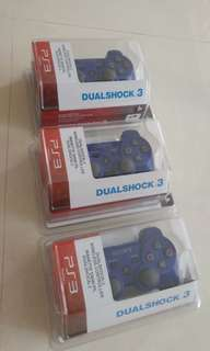 Brand New Blue PS3 Controllers, Wireless Type