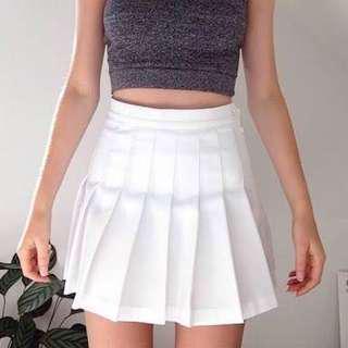 ✨BNWT American Apparel White Tennis Skirt!