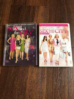 DVDs - Sex and the City season 5
