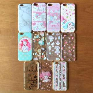My Melody/ Alice/ Ariel iPhone 6 case/ iPhone 6s case 卡通電話殼