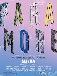 LF: 2 Paramore tickets