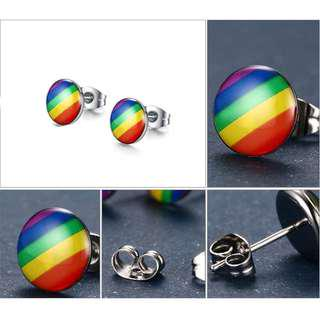 BN Charming Stainless Steel Ear Studs for Men Women [MJN103]