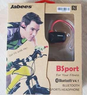 Jabees bluetooth V4.1 Sweat proof IPX4 sports headphones