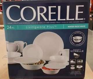 Corelle 24 pcs