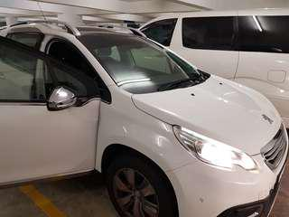 Peugeot 2008 very low mileage year 2016 sambung bayar