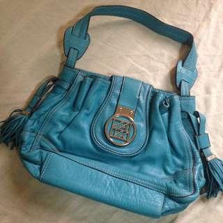 Capri Blue Shoulder Bag
