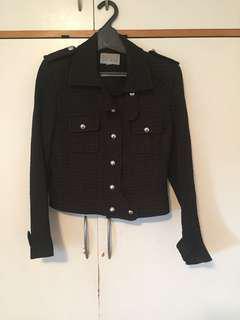 Adrienne Winkelmann Black Winter Jacket