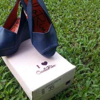 Carlo Rino Footwear Ladies / Blue
