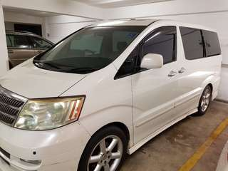 Toyota alphard 3.0 year 2003 1 owner