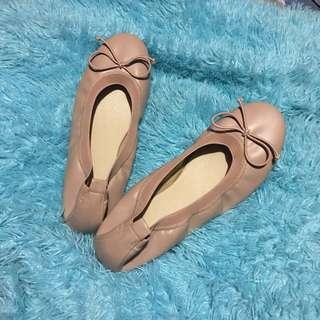Ballets Flats Nude with Bow Yosi Samra Inspired