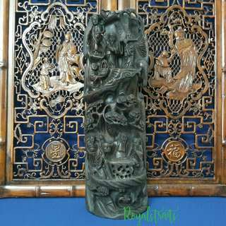 Eight Immortal Carved Solid Wood