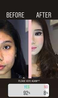 Dicari Model makeup Orang Tua yg berkeriput masalah kulit untuk di atasi dengan makeup sweater baju celana tas