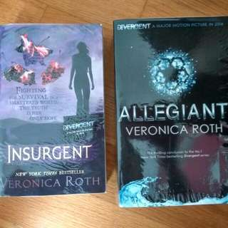 Allegiant Insurgent Divergent Series Veronica Roth Very Good Condition