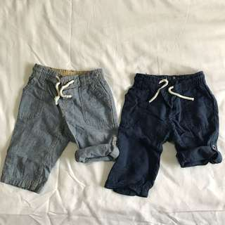 H&M 2 way pants for boys  (can be worn as pants or shorts)