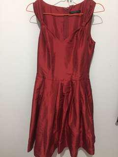 Red Night Dress