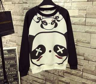 Panda sweater/am