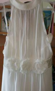 white long dress /formal dress
