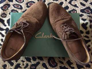 Clarks Shoes Fincy Limit Brown Sde