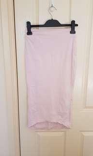 Kookai baby pink skirt size 12
