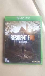 Resident Evil Biohazard Xbox