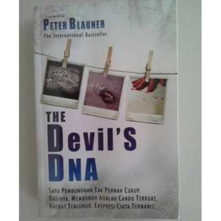 Buku Devil's DNA - Peter Blauner