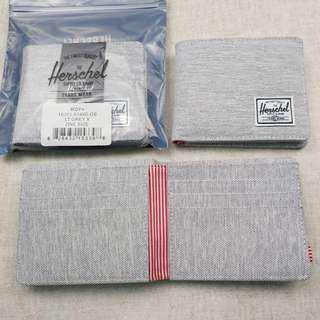 現貨 Herschel Roy 防RFID 短款男女錢包 淺灰色 LT GREY X 10363-01460-os