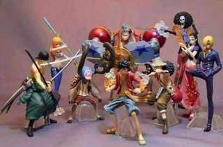 One Piece Collection (Fishman island) Complete set of straw hat pirates!