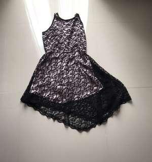 Triangular Floral Dress