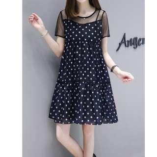 🚚 夏季時尚甜美洋裝