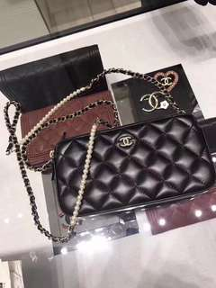 BEST SELLING Chanel SS18 Limited Edition Wallet On Chain