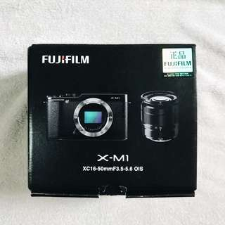 Fujifilm XM1 Compact System 16MP Digital Camera Kit with 16-50mm Lens and 3-Inch LCD Screen (Black)