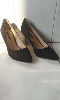 Zalora Black High Heels