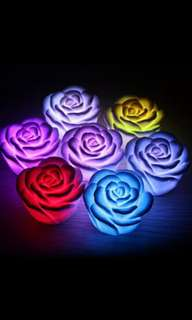 2 free blessed  all color changing colored lamp