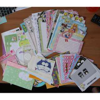 Cute letter & envelope sets Korean & Japanese
