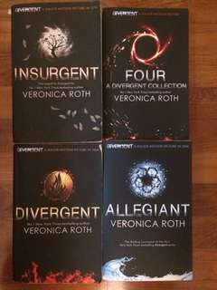 Divergent Collection by Veronica Roth