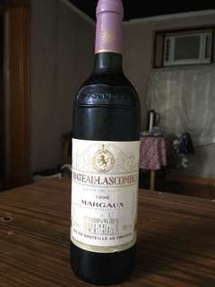 Chateau-Lascombes Margaux red wine authentic 1996窄有 美酒/紅酒/洋酒 party celebration red wine 法國 made in France