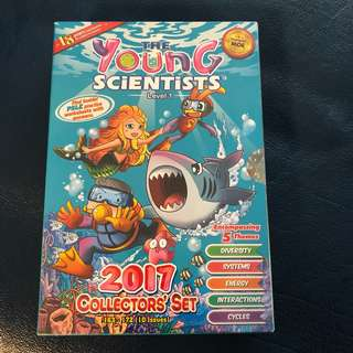 Young Scientists level 1 2017 collectors set