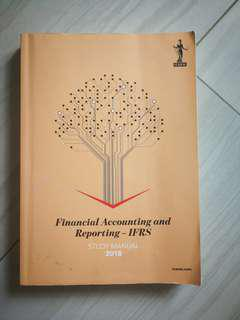 ICAEW 2018 FAR textbook and question bank