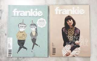 Frankie magazines ($6 for 2 magazines)
