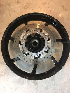 "HD CVO 19"" original Agitator Wheel Harley Davidson"
