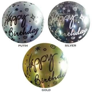 Latex Printing Happy Birthday