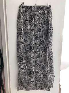Witchery long line skirt