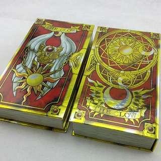 Cardcaptor Sakura: The Official Clow Book + 52 Clow Cards Original Set (Manga Version)