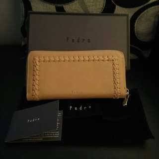 PEDRO LEATHER WALLET NEW!!  (KUNING GADING)