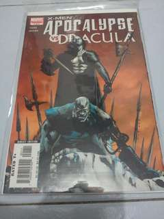 APOCALYPSE VS DRACULA #1 (Marvel Comics)